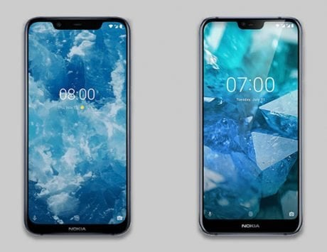 Nokia 8.1 and 7.1 are selling at a discounted prices on online stores