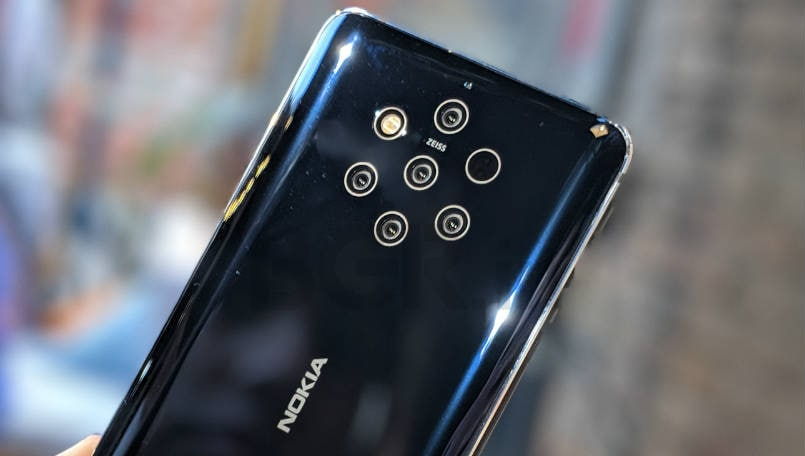 Nokia 8.1, Nokia 9 PureView, Nokia 7.2 and Nokia 6.2 discounted on Amazon India