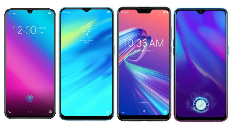 Oppo K1 vs Realme 2 Pro vs Asus Zenfone Max Pro M2 vs Vivo V11 Pro: Price in India, specifications and features compared