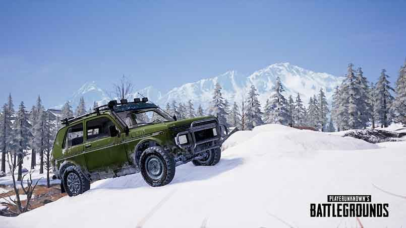 PUBG update is now live with new vehicles for Vikendi map and flare guns