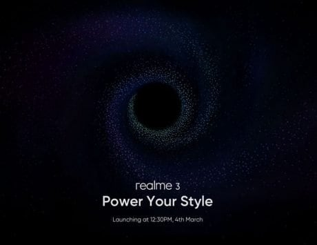 Realme 3 to launch on March 4 in India with Helio P70, diamond-cut design and dual camera setup