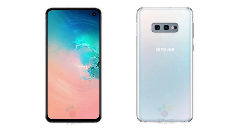 Samsung Galaxy S10e renders leak out showcasing an iPhone XR-like design and dual cameras