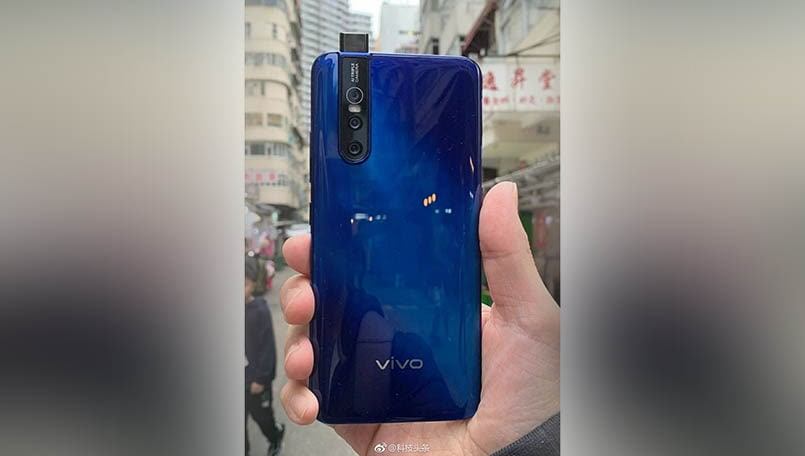 Vivo V15 Pro live image leaked ahead of the February 20 unveiling