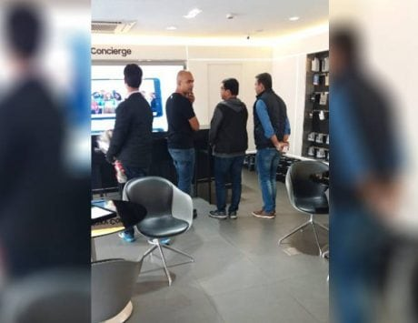 Xiaomi India head Manu Kumar Jain spotted checking out Samsung store: Report