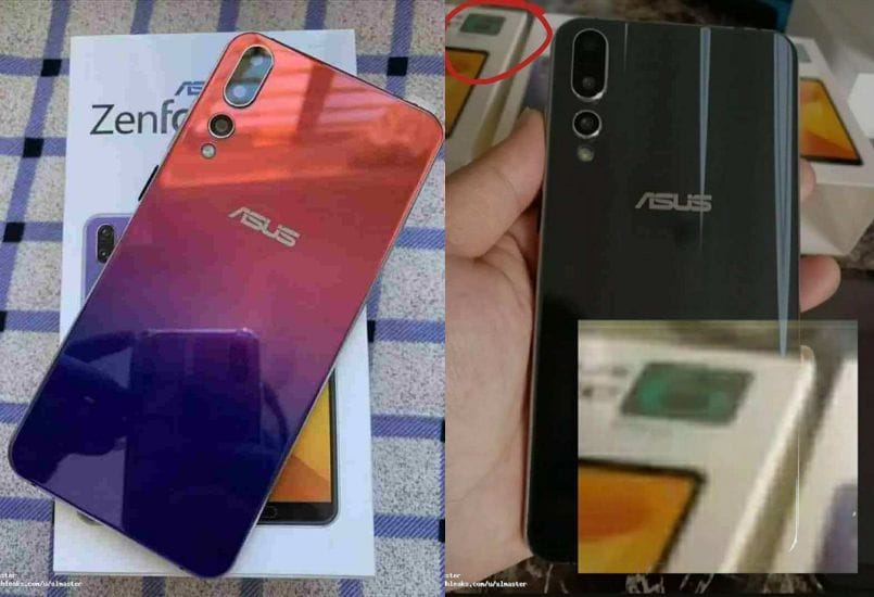 Asus Zenfone 6 photos leaked again with triple camera setup, gradient back