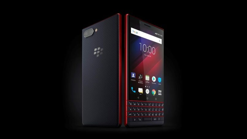 BlackBerry Key2 in a new Red color like Key2 LE tipped to launch soon