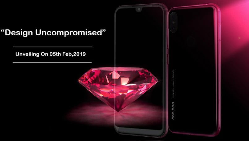 Coolpad Cool 3 India launch on February 5; to feature dewdrop notch