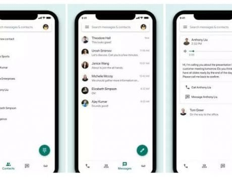 Google Voice for iOS gets latest Material Theme