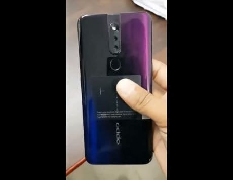 Oppo F11 Pro live video leaks, confirming lack of notch and rear-dual cameras