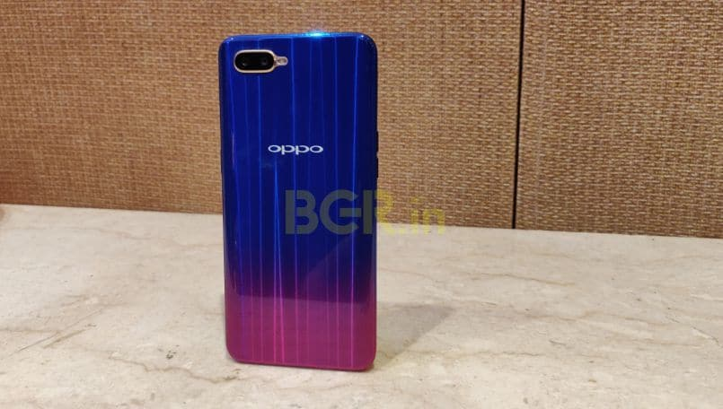 Oppo K1 with in-display fingerprint sensor goes on first sale today at 12PM on Flipkart: Price, Specifications
