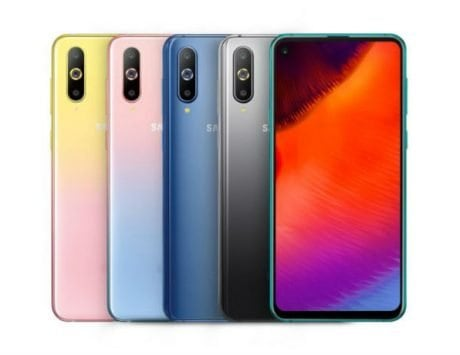 Samsung Galaxy A8s now comes in two gradient colors