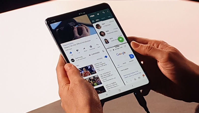 Samsung Galaxy Fold with Infinity Flex display, 6 cameras goes official