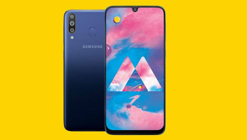 Samsung Galaxy M30 with 5,000mAh battery, triple cameras launched in India