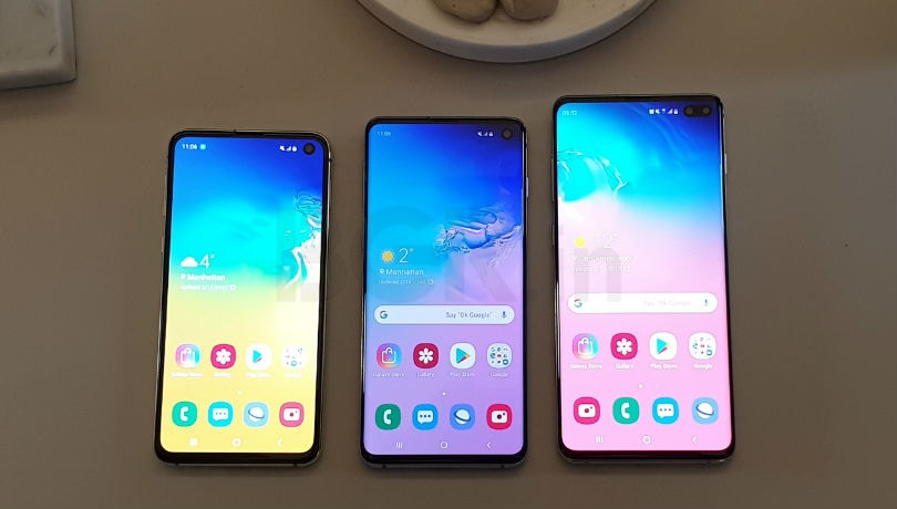 Samsung Galaxy S10, Galaxy S10+, Galaxy S10e India prices out, start from Rs 55,900
