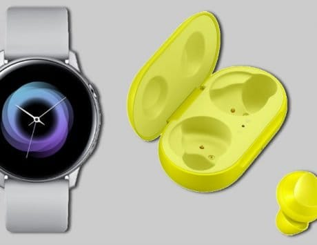 Samsung Galaxy Watch Active, Galaxy Fit, Galaxy Buds unveiled