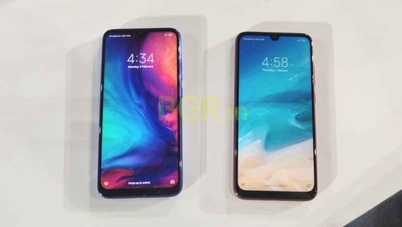 Xiaomi Redmi Note 7 Vs Redmi Note 7 Pro What S Different Bgr India