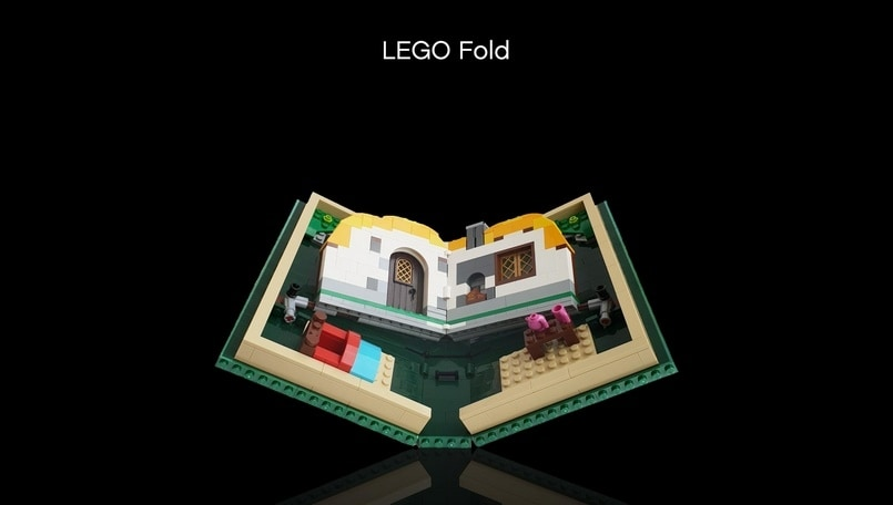 Lego reveals its own foldable product to take on the Samsung Galaxy Fold