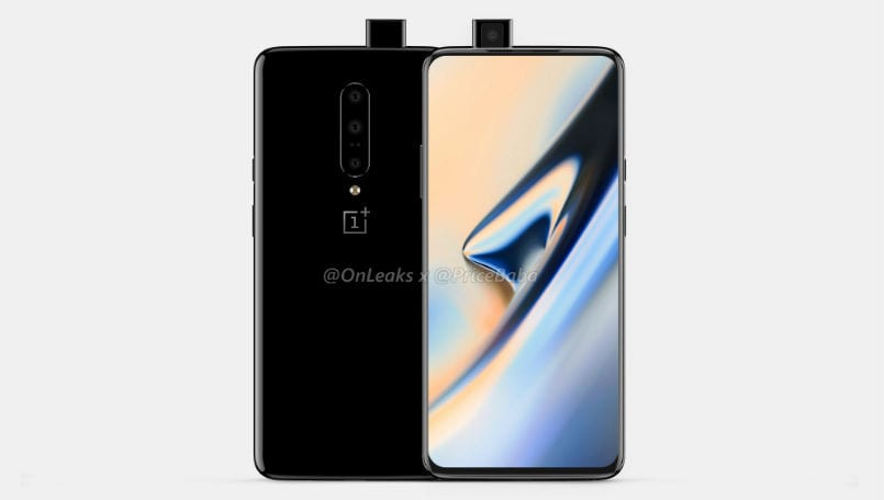 OnePlus 7 3D renders and 360-degree video leaks, hints at pop-up selfie camera setup