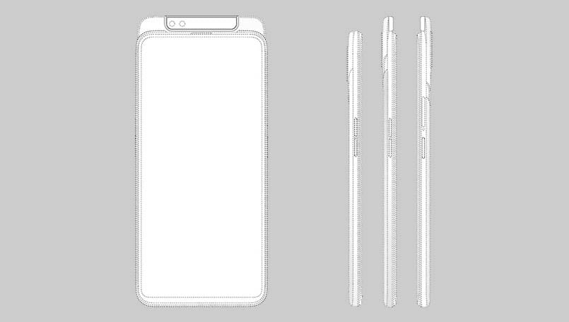 Oppo patents a slider phone design with dual selfie cameras; likely prepping for Find Z