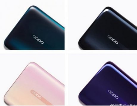 Oppo Reno four colors teased, a new hands-on video reveals notch-less display