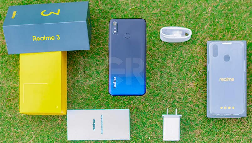 Realme 3 with MediaTek Helio P70 and waterdrop notch to go on first sale today