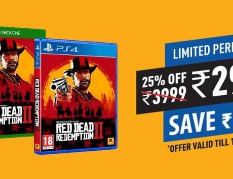 Red Dead Redemption 2 is getting a limited period discount of Rs 1,000