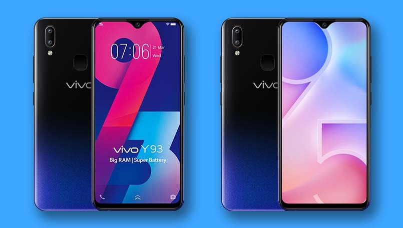 Vivo Y93 and Y95 receive permanent price cut in India weeks after launch