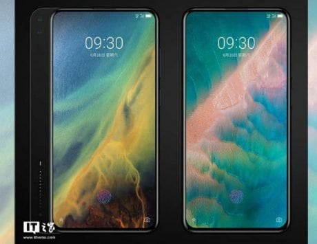 ZTE's 5G Axon S phone renders surface online with horizontal slider, triple cameras