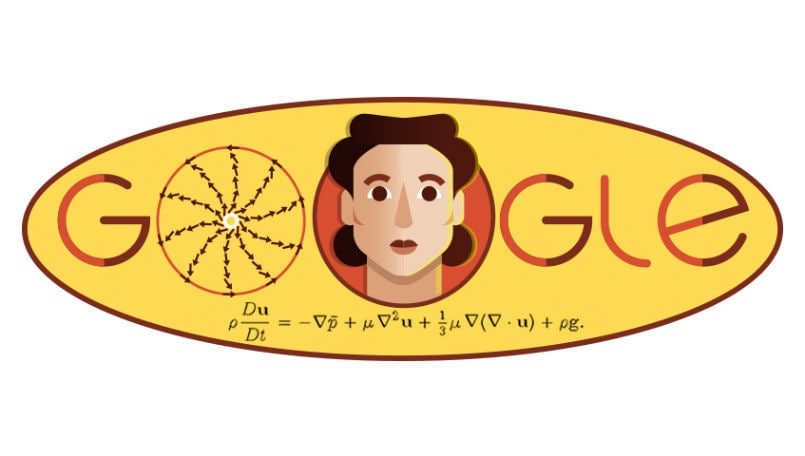 Olga Ladyzhenskaya: Google Doodle marks 97th birthday of Russian mathematician