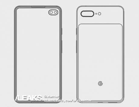 Google Pixel 4 to be button-less with a punch-hole display?