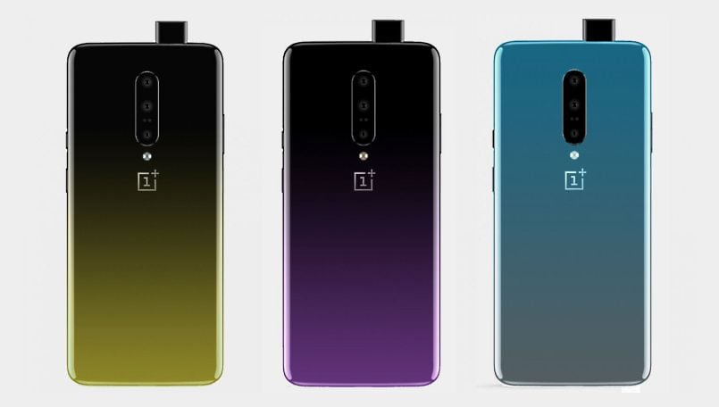 OnePlus 7 dual-tone gradient finish color design leaked in images