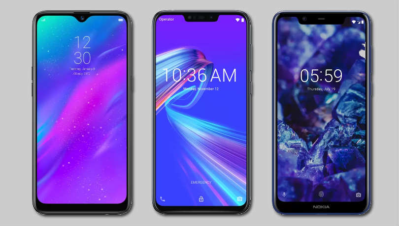 Realme 3 vs Asus Zenfone Max M2 vs Nokia 5.1 Plus: Price in India, specifications and features compared