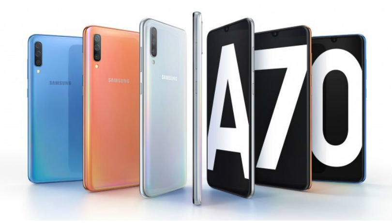 samsung galaxy a70 unveiled