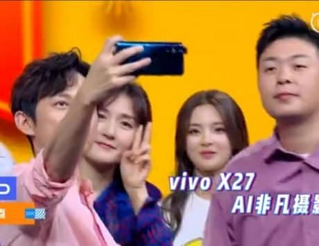 Vivo X27 spotted on Chinese TV show