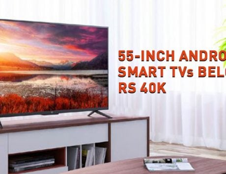 5 best 55-inch LED Smart TV deals under Rs 40,000