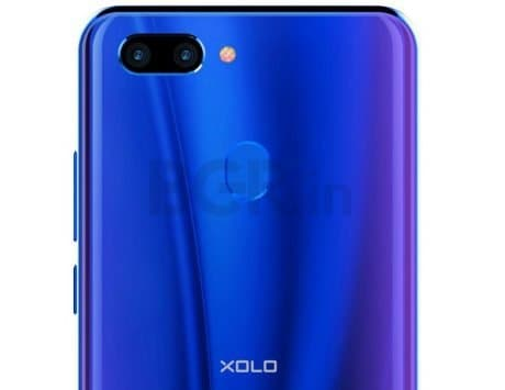 Xolo ZX leaked image shows 16-megapixel dual rear camera and gradient finish