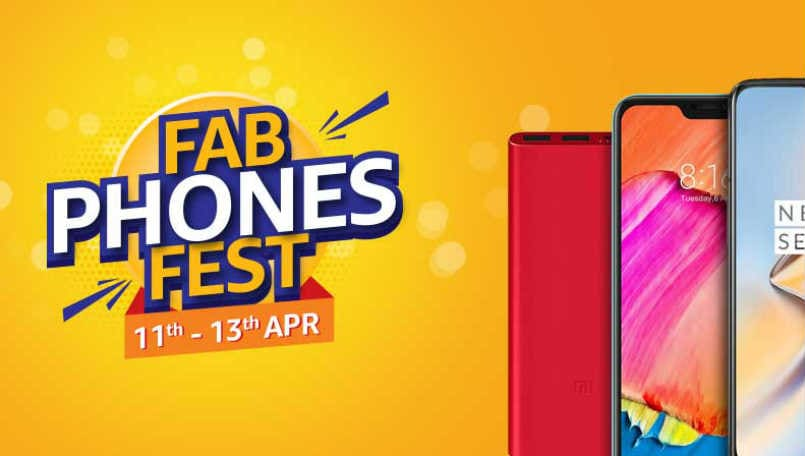 Amazon India Fab Phones Fest from April 11: Honor Play, OnePlus 6T, Realme U1, Apple iPhone X will get discount