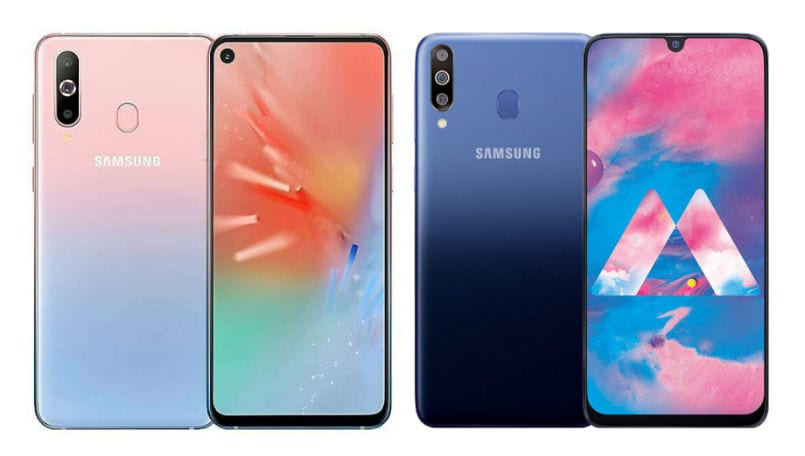 Samsung Galaxy A60 and Galaxy A40s unveiled with triple rear cameras in China