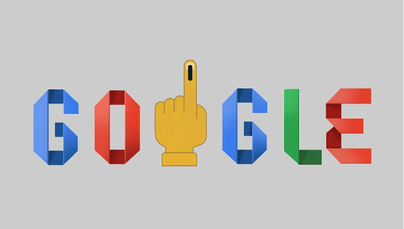 India Elections 2019: Google Doodle marks the start of polling in world's largest election