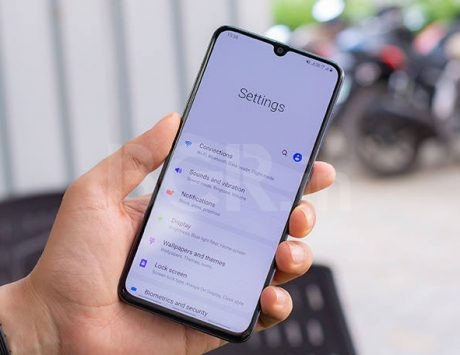 Samsung Galaxy A70 Android 10 update starts rolling out
