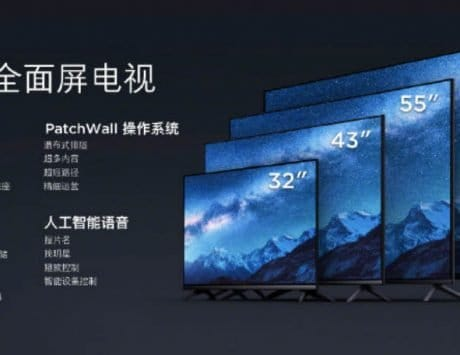 Xiaomi smart TVs launched in China