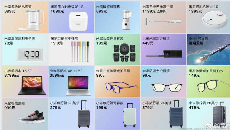Xiaomi announces 20 new products in China: Everything you need to know
