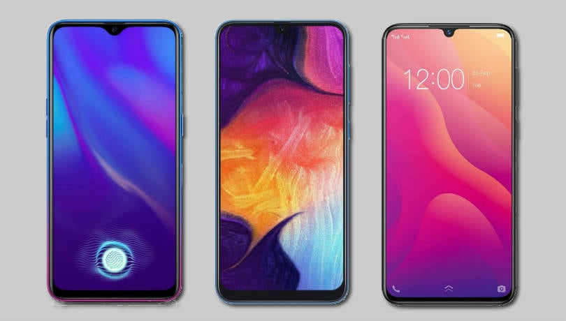 Oppo K1 vs Samsung Galaxy A50 vs Vivo V11: Price in India, specifications compared