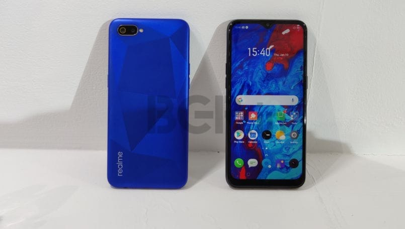 Realme C2 First Impressions: An entry-level smartphone with diamond-cut design, dewdrop display
