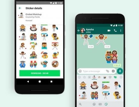 WhatsApp introduces new Cricket Stickers for Android; coming soon to iOS