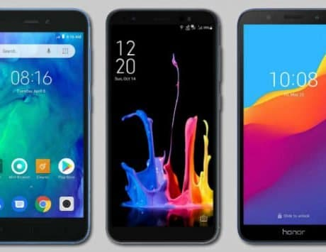 Xiaomi Redmi Go vs Asus Zenfone Lite L1 vs Honor 7S: Compared