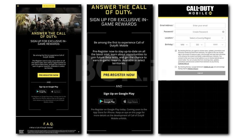 Call of Duty Mobile: How to register for the beta version