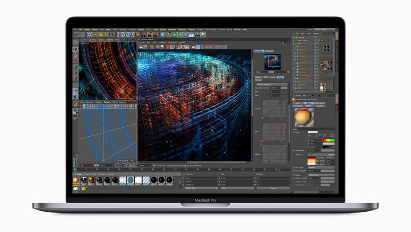 Apple updates its MacBook Pro lineup with faster processors and tweaked keyboards
