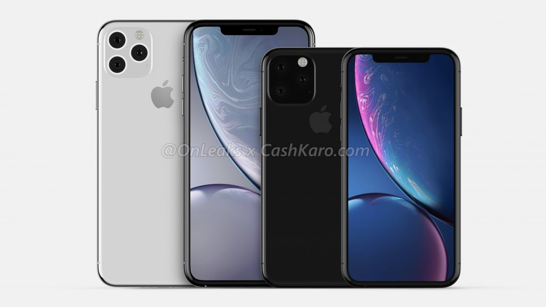 Apple iPhone XI, iPhone XI Max alleged design with triangular triple-rear camera leaked in CAD images