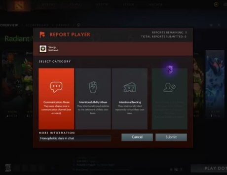 Valve is offering Dota 2 players an option to avoid toxic players but for a price